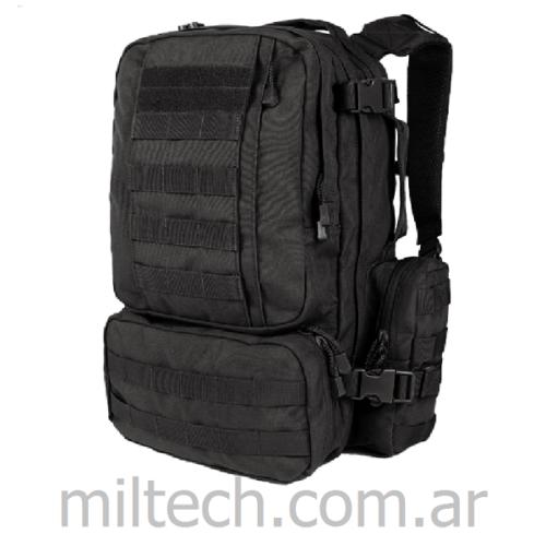 Mochila de combate gde. CONDOR Convoy Outdoor Pack, sistema hidratente compatible, MOLLE, compartimentos interiores, y bolsillos exteriores, cinturón en cintura, imp EEUU original