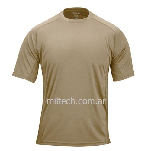 Remera PROPPER System tee, c/red respirable, tela antimicrobial, anti abrasión, c/bolsillo, ergonómica, imp.