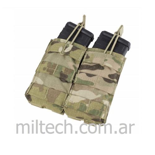 Porta cargador doble M4/M16 open top Pouch Multicam Condor