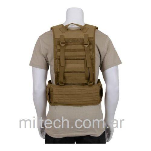 Chaleco Arnes Rothco Tactico Militar De Batalla+Cinturón de batalla táctico Rothco talle L